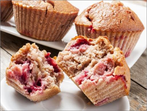 Image muffins à la fraise