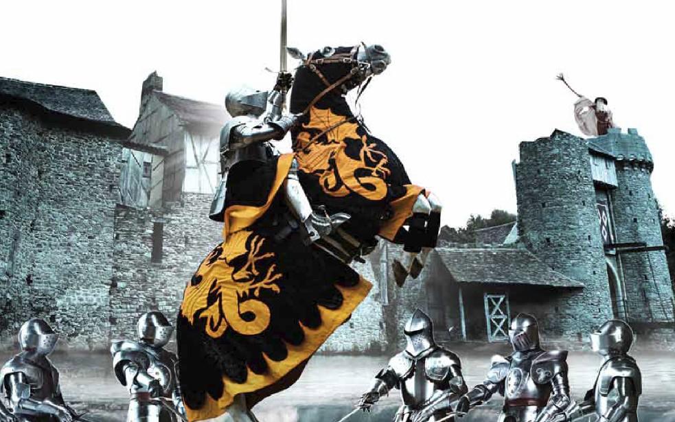 Le Top 10 des chevaliers qui ont marqués l'histoire : la série démarre mercredi à 7h30