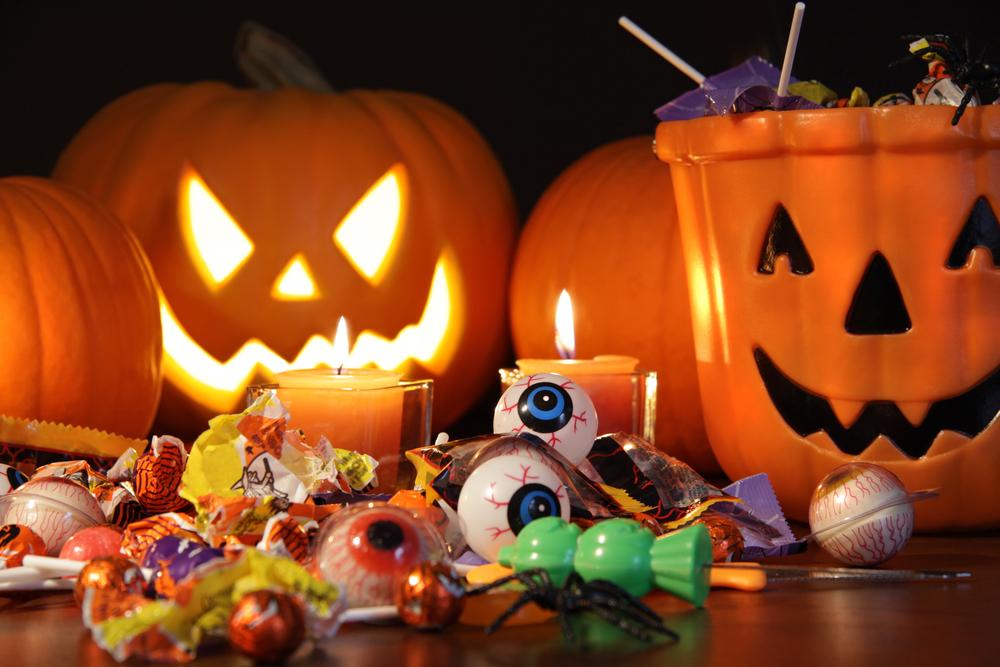 Halloween et les bonbons