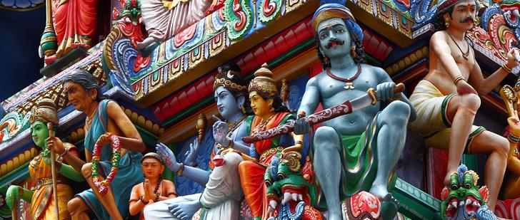 LE SAVIEZ-VOUS ? Les hindous vénèrent plus de 33 millions de dieux !